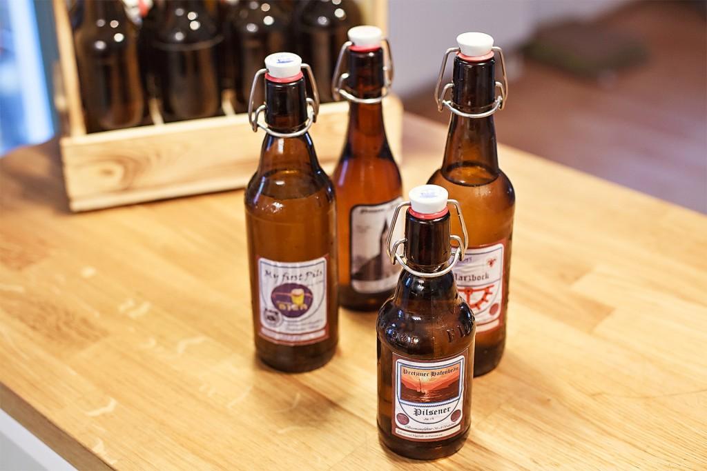 Bierbraukurs Magdeburg. www.wirbrauen.de Bier selber brauen. Selbstgebrautes Bier Bügelflasche